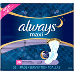 Always Maxi Extra Heavy Overnight Pads