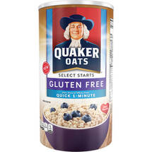 Quaker Oats Select Starts Quick 1-Minute Oats