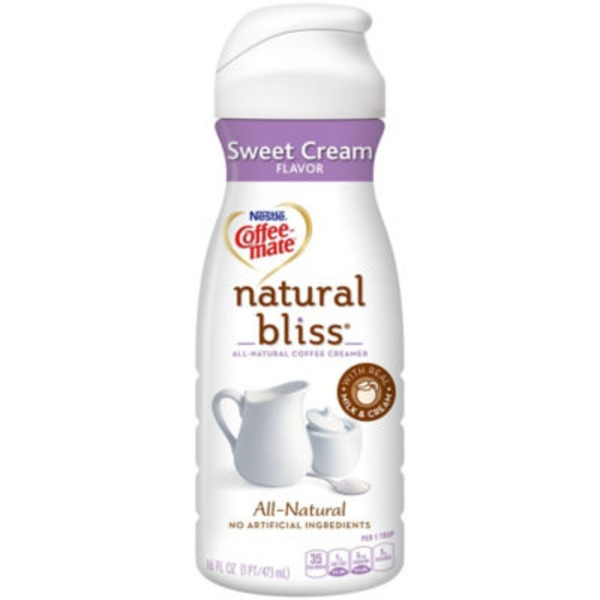 Nestlé Coffee Mate Sweet Cream All Natural Liquid Coffee Creamer