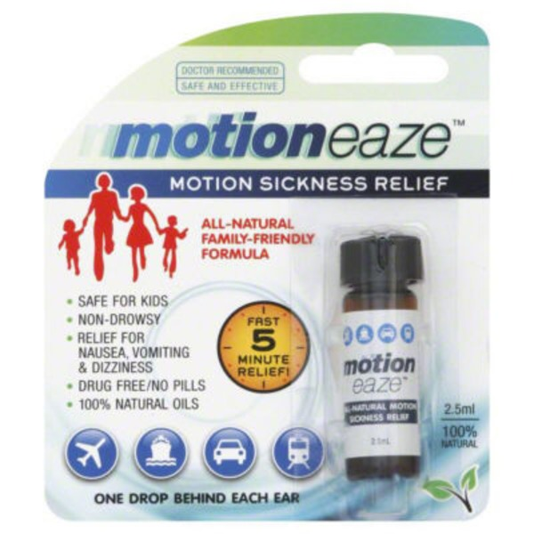 Motion eaze Motion Sickness Relief