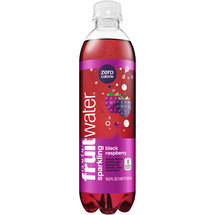 Glaceau fruitwater Black Raspberry Sparkling Water Beverage