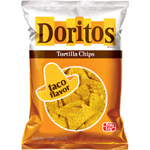 Doritos  Taco Flavor Tortilla Chips