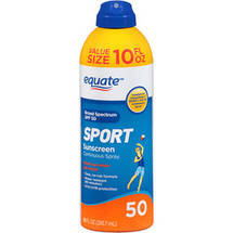 Equate Sport Sunscreen Continuous Spray SPF