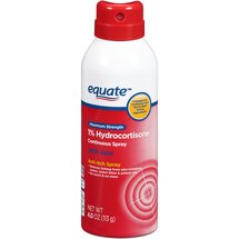 Equate Maximum Strength 1% Hydrocortisone Anti-Itch Continuous Spray