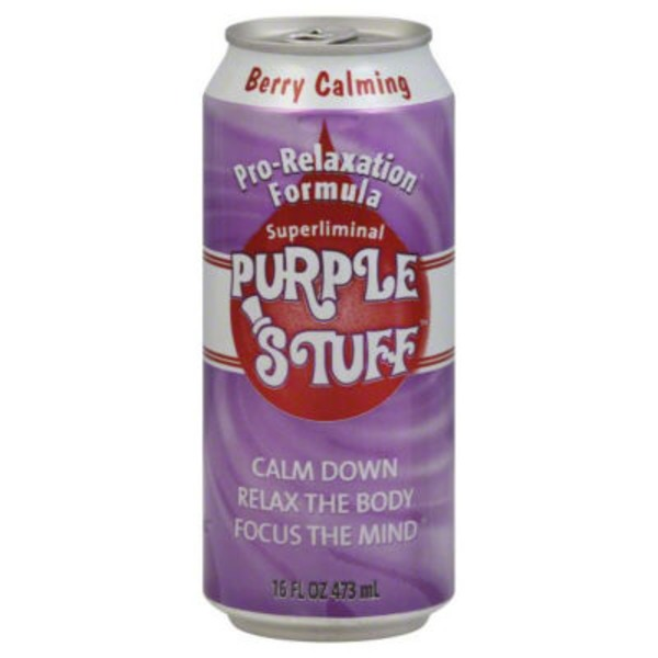 Purple Stuff Berry Calming Pro-Relaxation Formula Soda