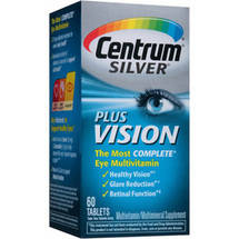 Centrum Silver plus Vision Multivitamin/Multimineral Supplement