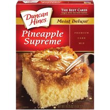 Duncan Hines Moist Deluxe Pineapple Supreme Cake Mix