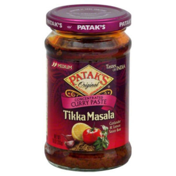Pataks Medium Concentrated Tikka Masala Curry Paste