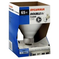 Sylvania Double Life Indoor 65 Watt Flood Light Bulb