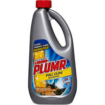 Liquid-Plumr Pro-Strength Clog Remover Full Clog Destroyer 32 Fluid Ounces