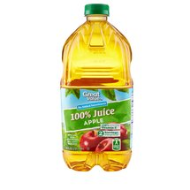 Great Value 100% Apple Juice