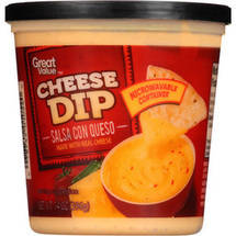 Great Value Cheese Dip Salsa Con Queso