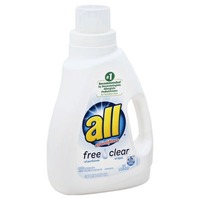 All With Stainlifters Free Clear 31 Loads Laundry Detergent