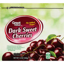 Great Value Dark Sweet Cherries