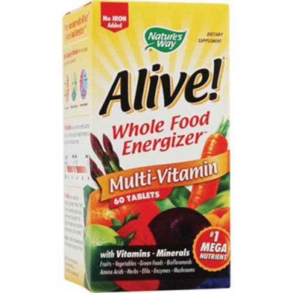 Nature's Way Alive! Iron Free Multi-Vitamin