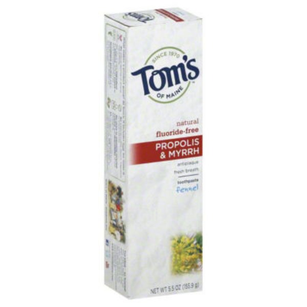 Tom's of Maine Propolis & Myrrh Toothpaste with Fluoride Fennel