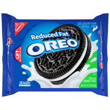 Nabisco Oreo Reduced Fat Chocolate Sandwich Cookies