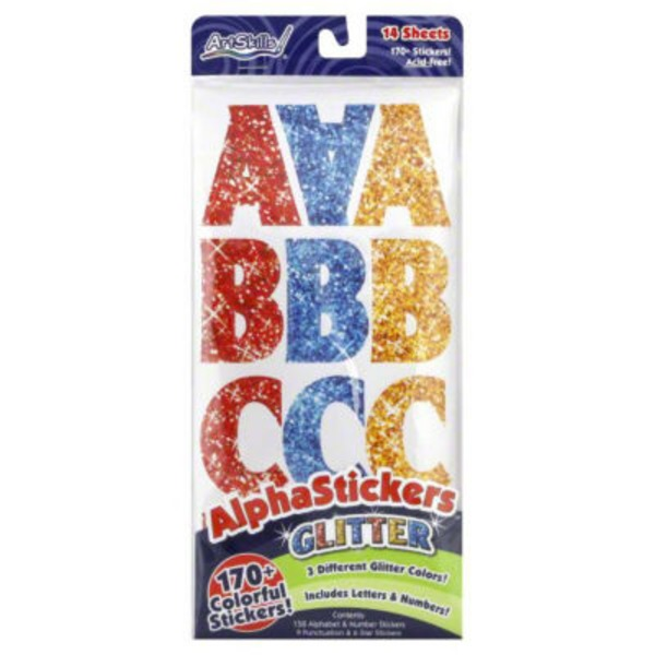 ArtSkills AlphaStickers Varsity - 181 CT