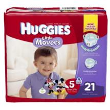 HUGGIES Little Movers Diapers Size 5