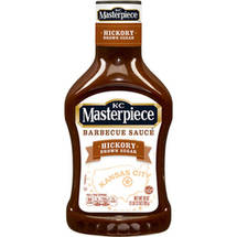 KC Masterpiece Hickory Brown Sugar Barbeque Sauce