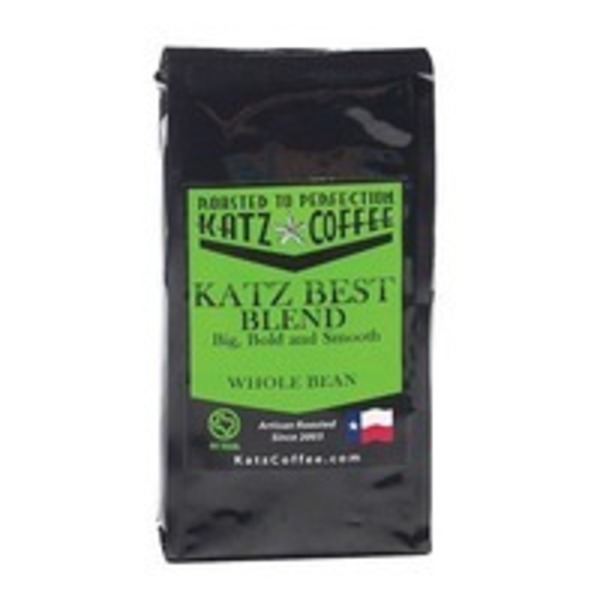 Katz Coffee Best Blend Whole Bean Coffee