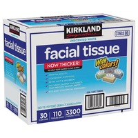 Kirkland Signature Unscented White Facial Tissue