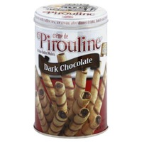 Creme de Pirouline Cream Filled Wafers Dark Chocolate