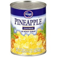 Kroger Pineapple Chunks In Heavy Syrup