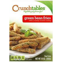 CRUNCHtables Crouton Coated Green Bean Fries