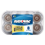 Rayovac Alkaline Value Pack C Batteries