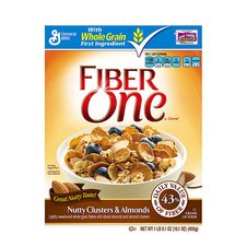 Fiber One Nutty Clusters & Almonds Cereal