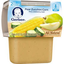 Gerber 2nd Foods Pear Zucchini Corn