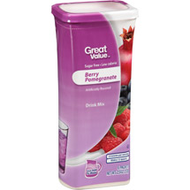 Great Value Berry Pomegranate Drink Mix