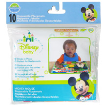 Neat Solutions Disney Mickey Mouse Disposable Placemat