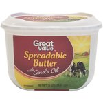 Great Value Spreadable with Canola Oil