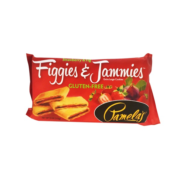 Pamela's Extra Large Strawberry Figgies & Jammies Cookies
