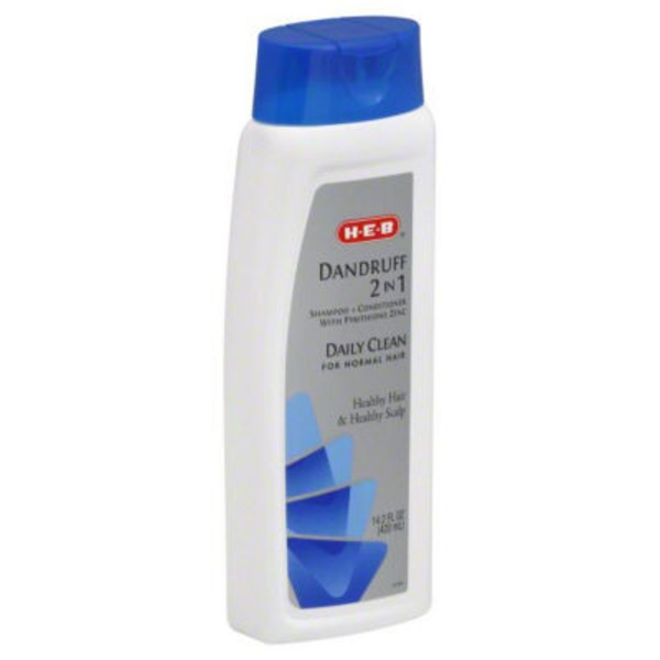 H-E-B Dandruff 2 In 1 Shampoo + Conditioner