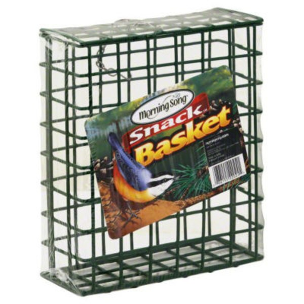 Morning Song Snack Basket Bird Feeder