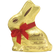 Lindt Easter Milk Chocolate Gold Bunny