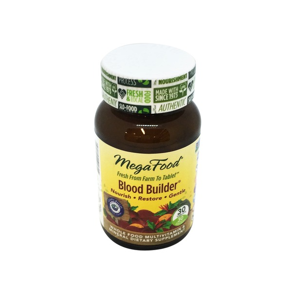 MegaFood Blood Builder Multivitamin Tablets