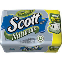 Scott Moist Wipes Tub Scented