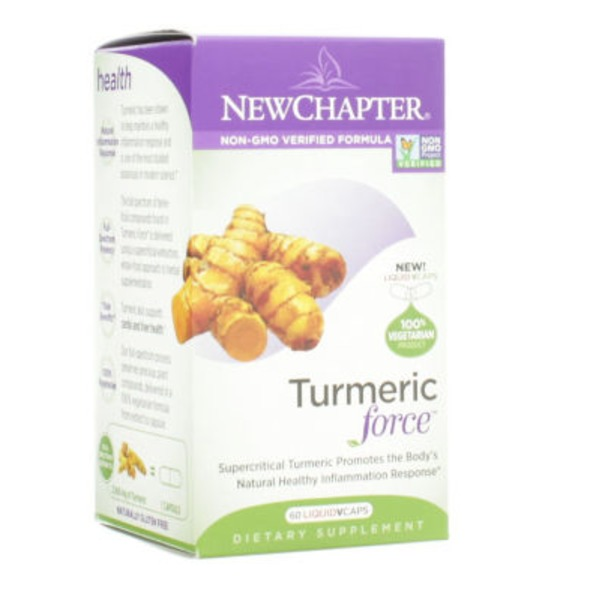 New Chapter Turmeric Force Liquid Capsules