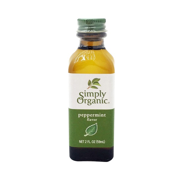 Simply Organic Peppermint Flavor