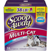Scoop Away Multi-Cat 38 pound