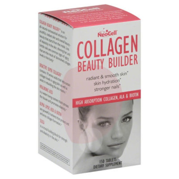 NeoCell Collagen Beauty Builder Tablets - 150 CT
