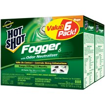 Hot Shot Fogger Insecticide with Odor Neutralizer