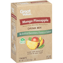 Great Value Mango Pineapple Drink Mix