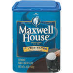 Maxwell House Instant Coffee Filter Packs