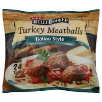 H-E-B Fully Cooked Italian Style Turkey Meatballs