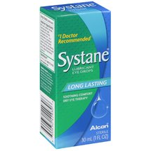 Alcon Systane Long Lasting Dry Eye Lubricant Artificial Tear Drops